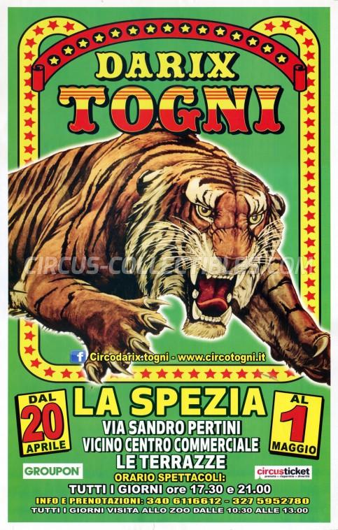 Darix Togni Circus Poster - Italy, 2019