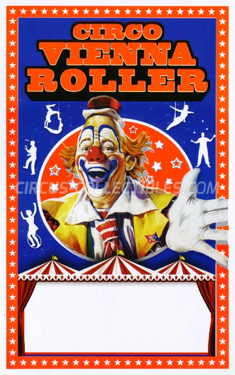 Roller di Vienna Circus Poster - Italy, 2016