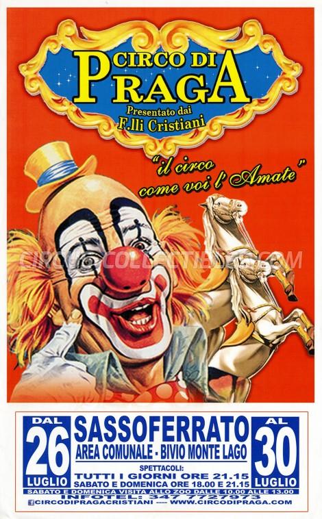 Circo di Praga Circus Poster - Italy, 0