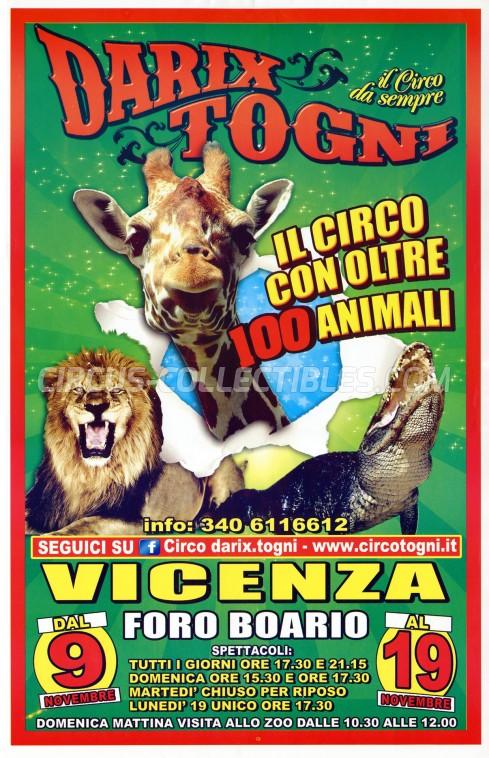 Darix Togni Circus Poster - Italy, 2018