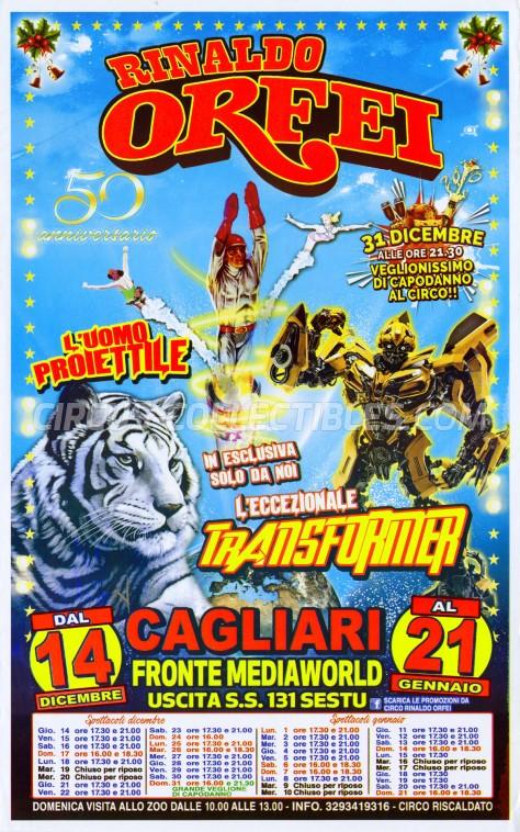Rinaldo Orfei Circus Poster - Italy, 2017