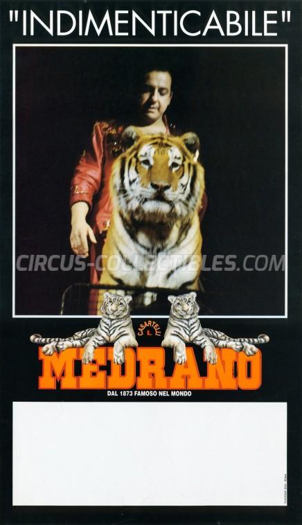 Medrano (Casartelli) Circus Poster - Italy, 1993