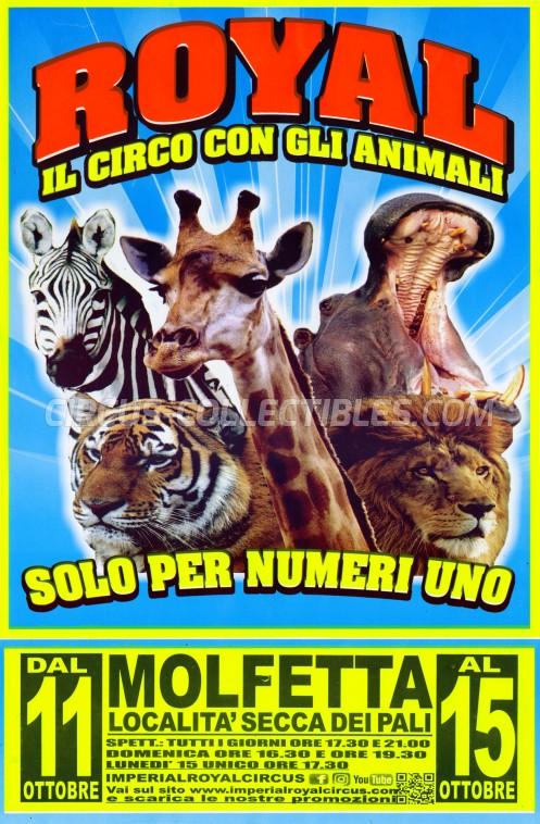 Royal (IT) Circus Poster - Italy, 2018