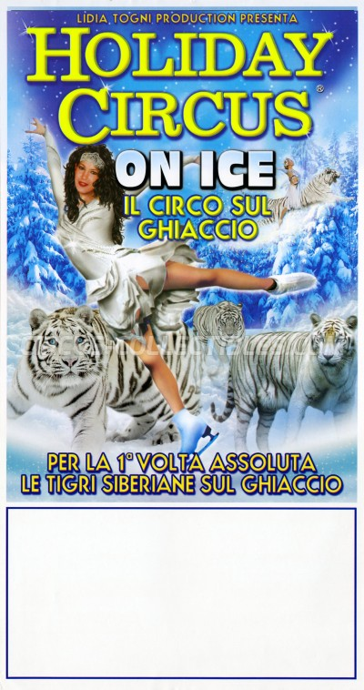 Lidia Togni Circus Poster - Italy, 2015