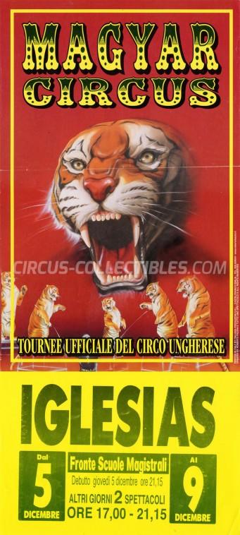 Magyar Circus Circus Poster - Italy, 2002
