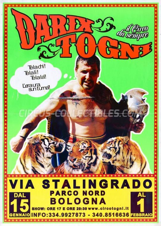 Darix Togni Circus Poster - Italy, 2015