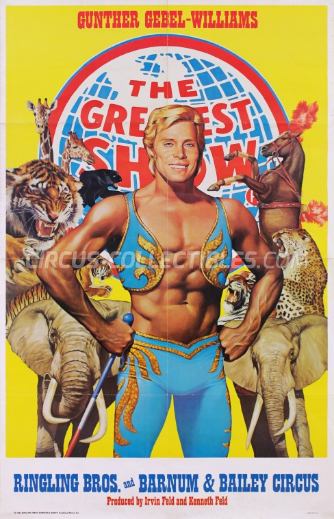 Ringling Bros. and Barnum & Bailey Circus Circus Poster - USA, 1981