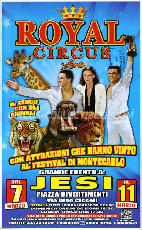 Royal Circus Loris Circus Poster - Italy, 2019