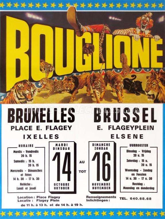 Alexandre Bouglione Circus Poster - Belgium, 1986