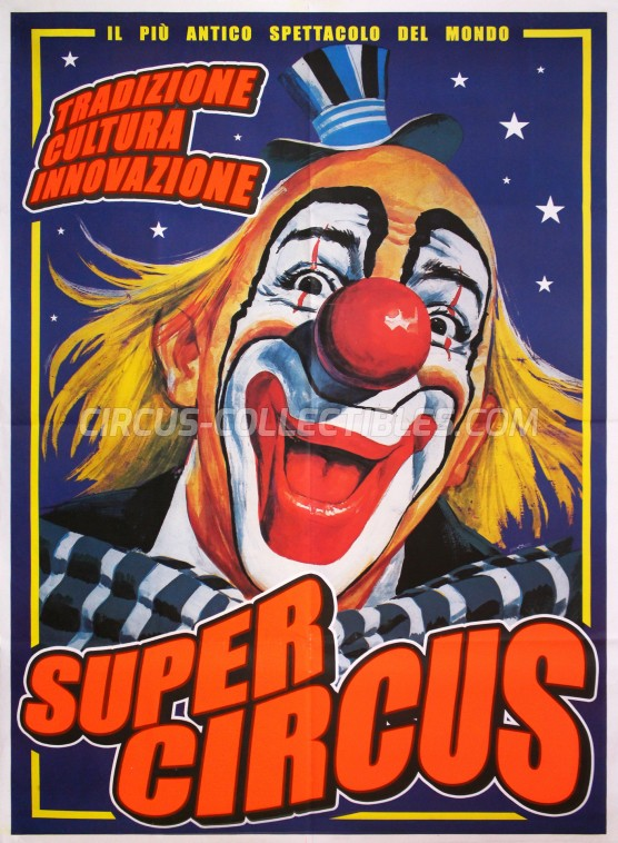Stock Poster Circus Poster - Italy, 2012
