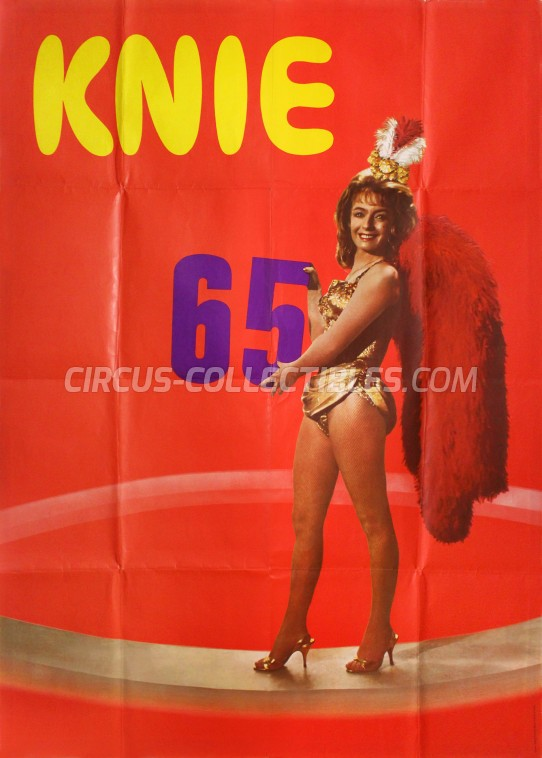 Knie Circus Poster - Switzerland, 1965