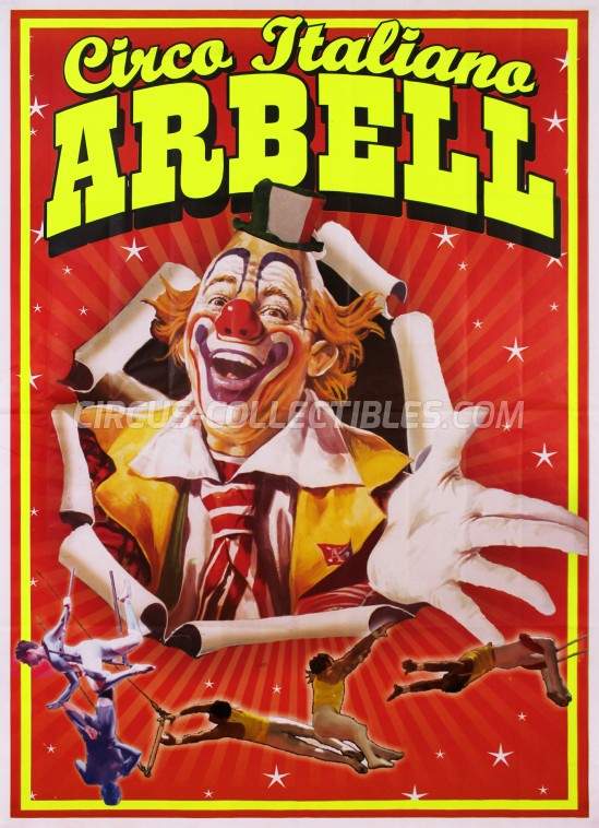 Arbell Circus Poster - Italy, 2016