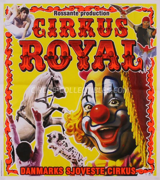 Royal (DK) Circus Poster - Denmark, 2012
