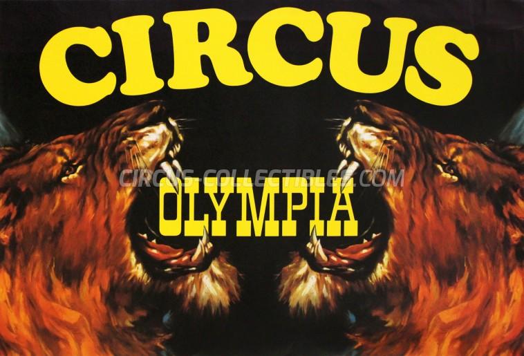 Olympia Circus Poster - Switzerland, 0
