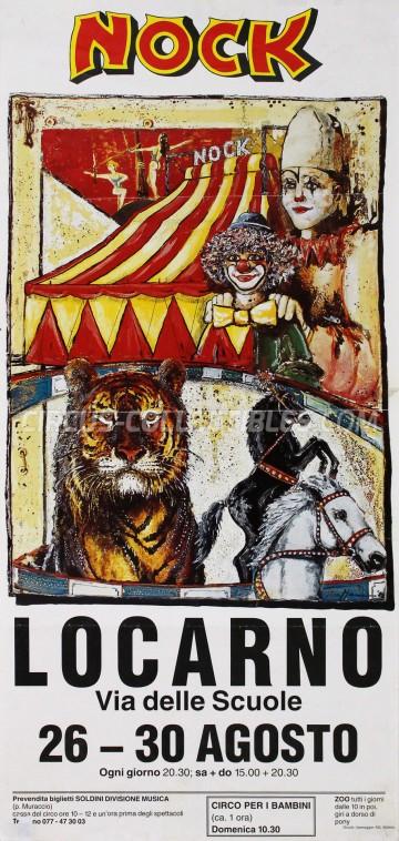 Nock Circus Poster - Switzerland, 1993