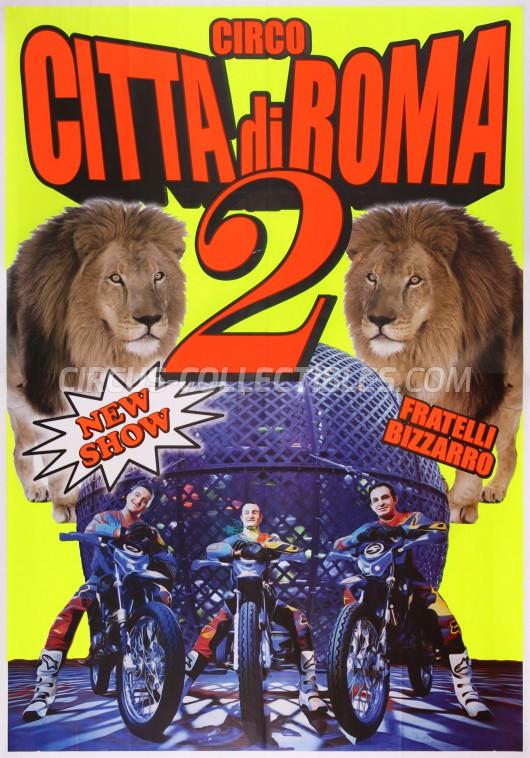 Citta' di Roma Circus Poster - Italy, 2014