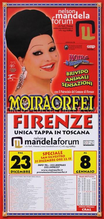 Moira Orfei Circus Poster - Italy, 2005