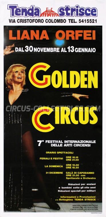 Liana Orfei Circus Poster - Italy, 1991