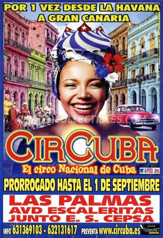 CirCuba Circus Poster - Cuba, 2019