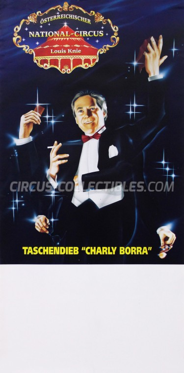 Louis Knie Circus Poster - Austria, 1994
