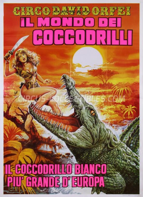 David Orfei Circus Poster - Italy, 0