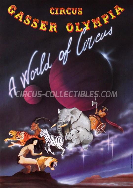 Olympia Circus Poster - Switzerland, 1994