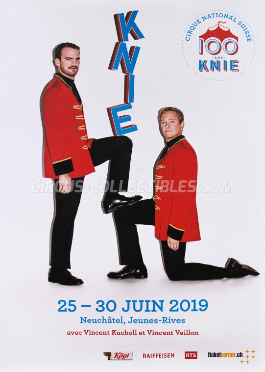 Knie Circus Poster - Switzerland, 2019
