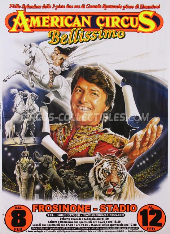 American Circus Circus Poster - Italy, 2008