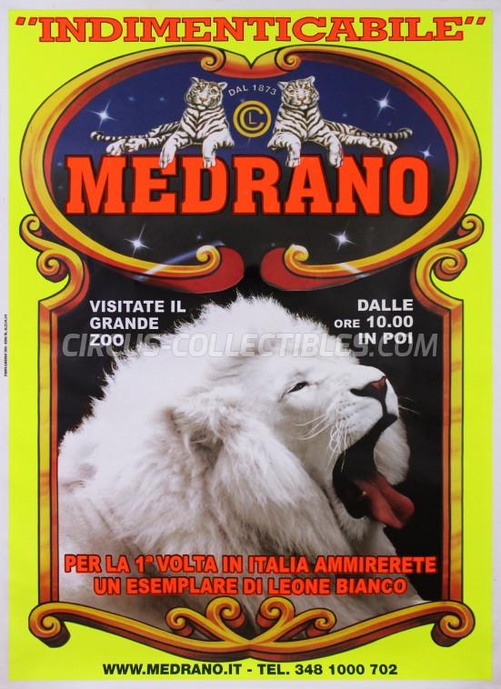 Medrano (Casartelli) Circus Poster - Italy, 2004