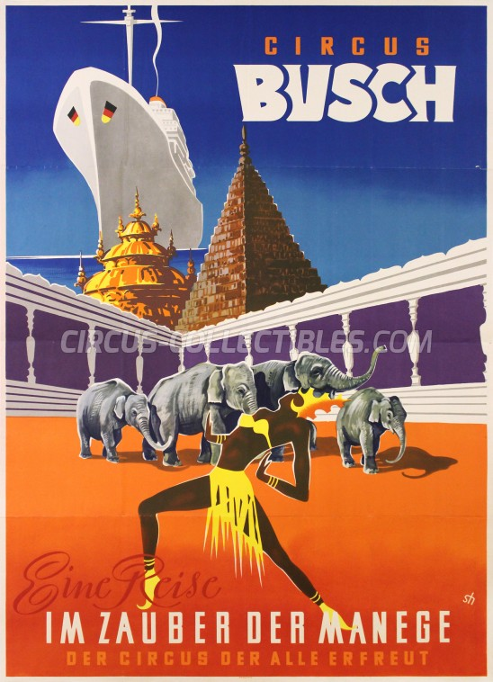 Busch Circus Poster - Germany, 0
