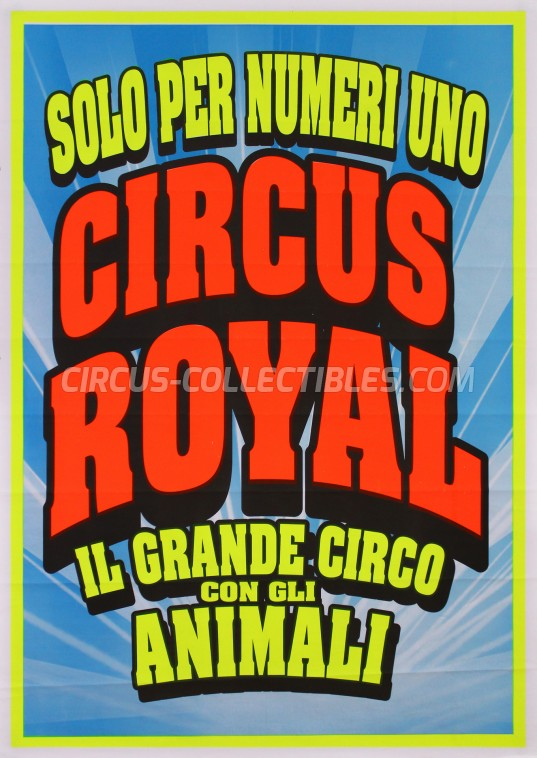 Royal (IT) Circus Poster - Italy, 2018
