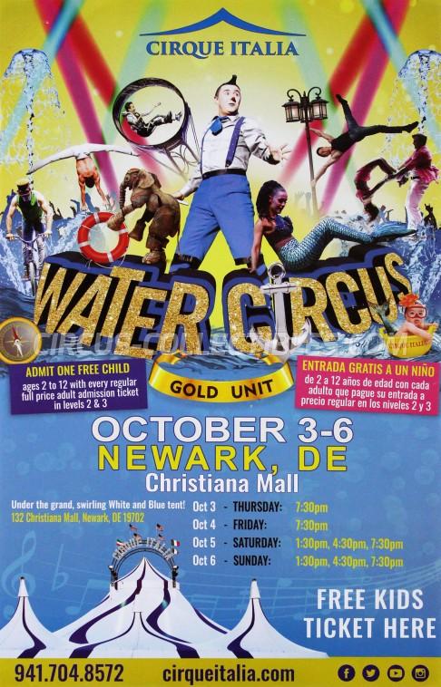Cirque Italia Circus Poster - USA, 2019