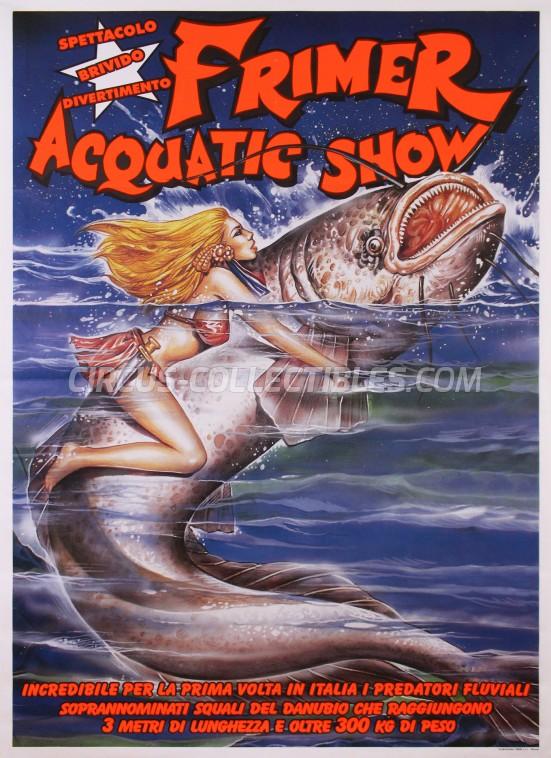 Acquatico Frimer Circus Poster - Italy, 2013