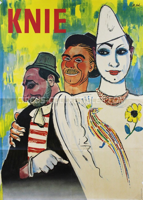 Knie Circus Poster - Switzerland, 1966