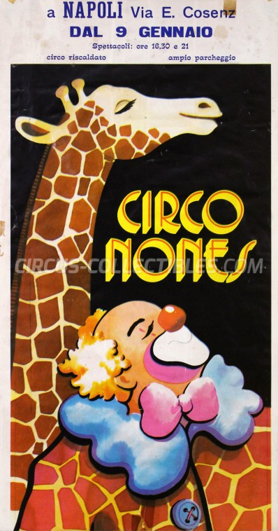 Nones Circus Poster - Italy, 0