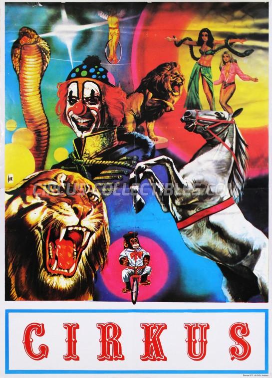 Stock Poster Circus Poster - Serbia, 0
