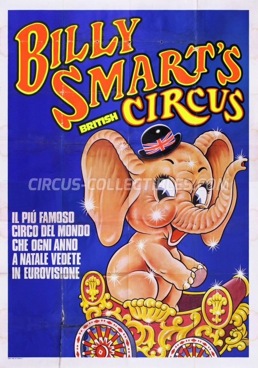 American Circus Circus Poster - Italy, 1975