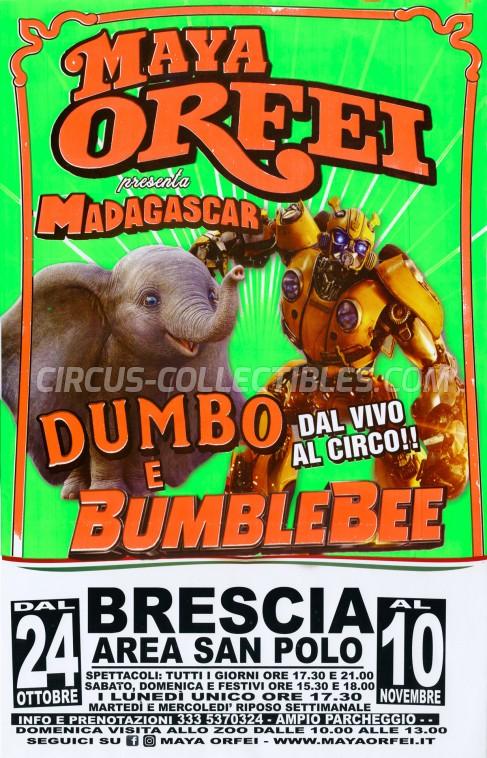 Maya Orfei Circus Poster - Italy, 2019