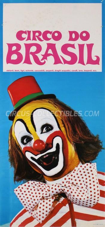 Circo do Brasil Circus Poster - Italy, 1978