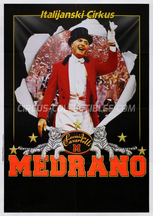 Medrano (Casartelli) Circus Poster - Italy, 2010
