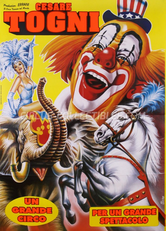 Cesare Togni Circus Poster - Italy, 2006