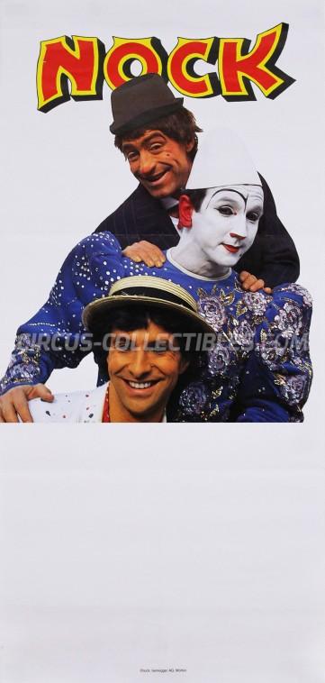 Nock Circus Poster - Switzerland, 1987