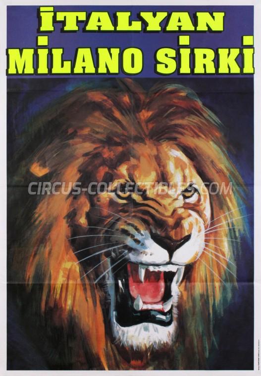 Milano Sirki Circus Poster - Italy, 0