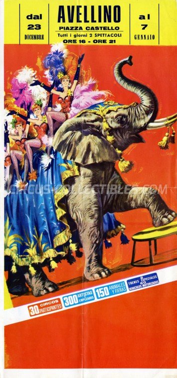 Unknown Circus Poster - Italy, 0
