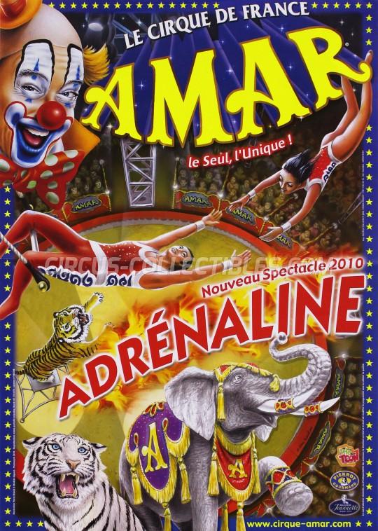 Amar Circus Poster - France, 2010