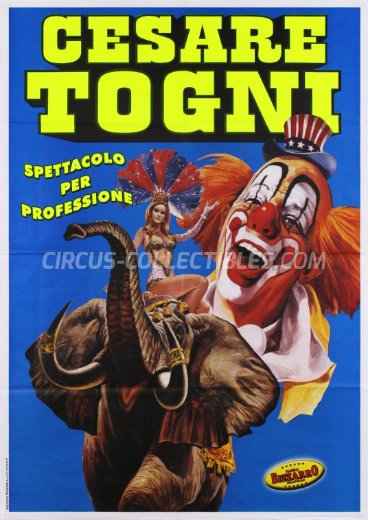 Cesare Togni Circus Poster - Italy, 2008