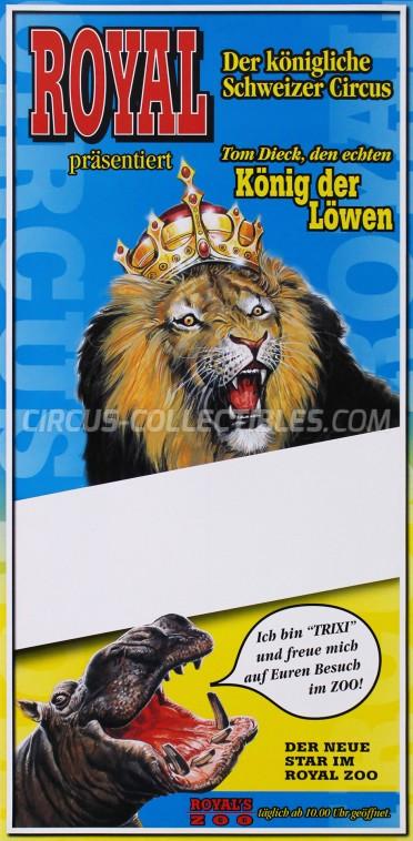 Royal (CH) Circus Poster - Switzerland, 2003