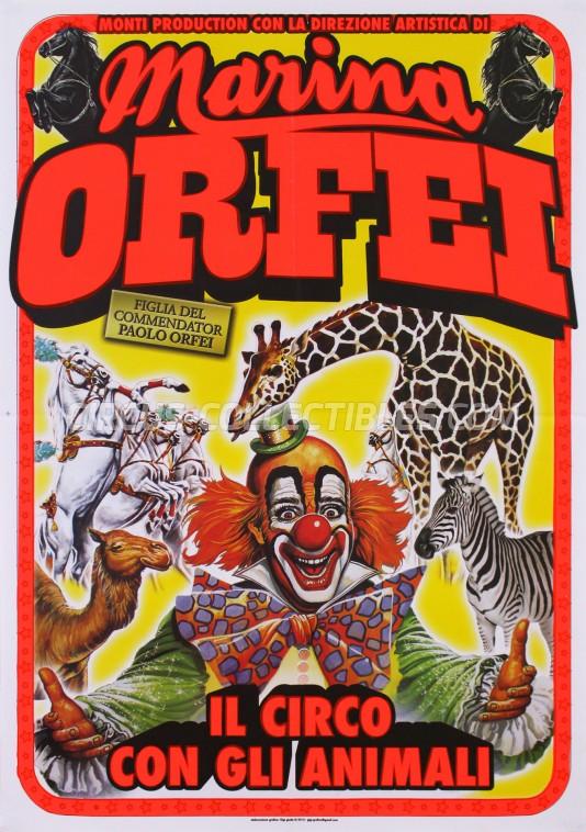 Marina Orfei Circus Poster - Italy, 2015