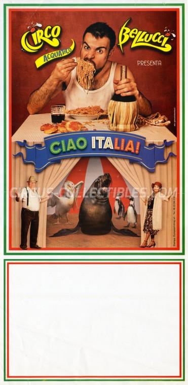 Acquatico Bellucci Circus Poster - Italy, 2013