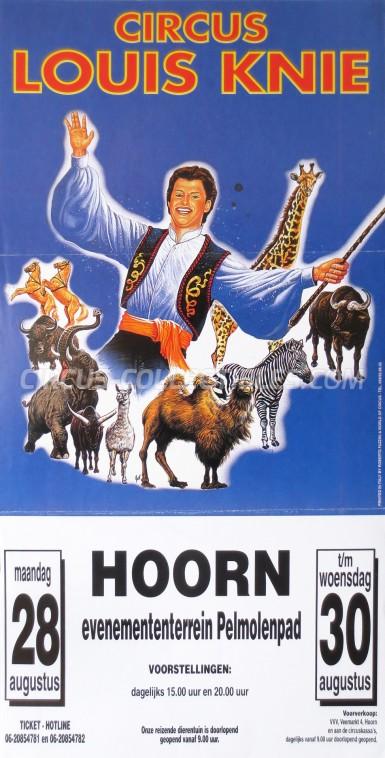 Louis Knie Circus Poster - Austria, 1997